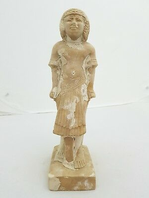 ANCIENT EGYPT RARE EGYPTIAN ANTIQUE QUEEN STATUE STONE Dynasty 18TH 1550-1292 BC