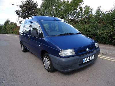 2003 Fiat Scudo 1.9D DIESEL **wheelchair access** + ONLY 2 FORMER KEEPERS ++