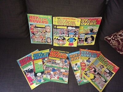 Roy of the Rovers Comics x 10 1983/1984