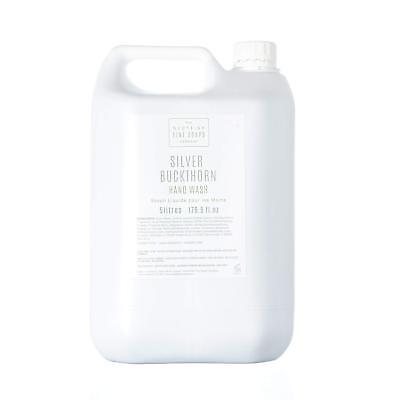 Scottish Fine Soaps Silver Buckthorn Liquid Commercial Hand Wash (5 Litres)