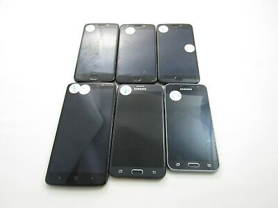 Google Locked Lot of 6 Assorted Phones USCellular Check IMEI 4GL-8120