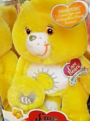 Care Bears Yellow Funshine Bear Special Collector Edition Swarovski Crystal Eyes