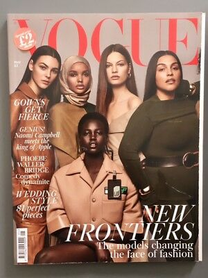 British Vogue Uk May 2018 New Frontiers Cover; Phoebe Waller-Bridge Interview