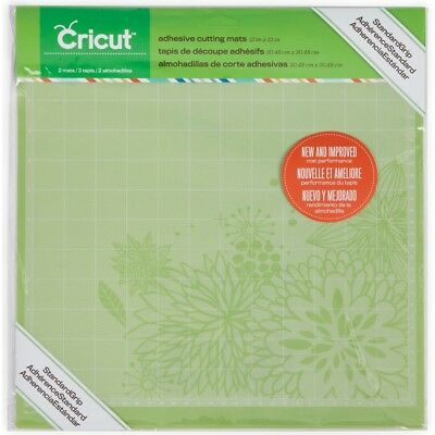 Cricut 12 x 12 Inch PC Adhesive Cutting Mat Grid Multi Purpose Crafting Pack of…