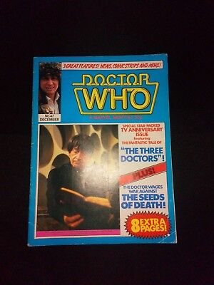 Doctor Who Monthly Magazine No 47 Vintage/Retro SciFi (1980) Rare