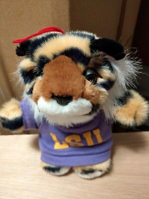 Lsu Tigers Mike The Tiger Mascot Beanie Plush Stuffed Animal Toy 6