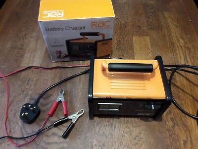 Rac Heavy Duty 6V And 12V Car Battery Charger Cars,motorbike,vans,motorhome