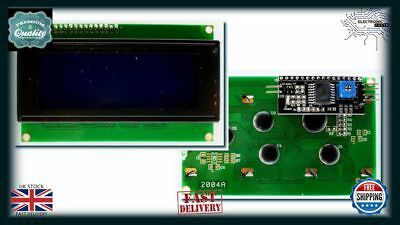 Arduino 2004 20X4 Character LCD Module Display Blue Green With IIC/I2C AA015