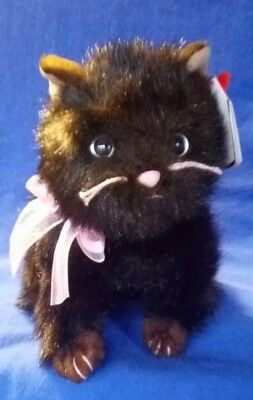 """Ty Beanie Baby *HEIRESS* the Cat (10.5"""" including tail)~Retired 2006~MWMT"""