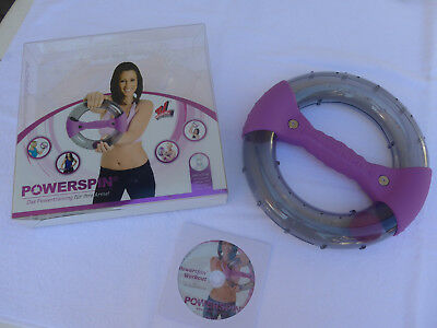 Powerspin Armtrainer ovp incl. DVD