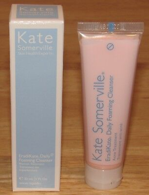 Kate Somerville EradiKate Daily Foaming Cleanser 1 Oz Blemish Treatment NIB