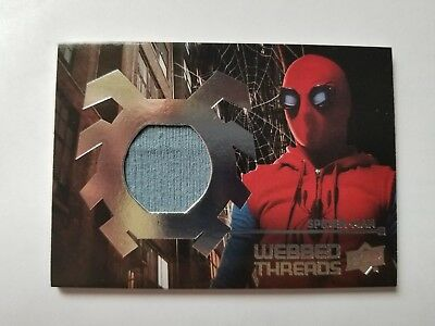 SPIDER-MAN HOMECOMING Costume Card: WTS1 WEBBED THREADS RELIC
