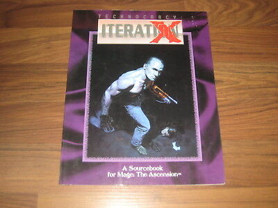 Mage The Ascension Technocracy Iteration X Sourcebook 1993 White Wolf 4202 G
