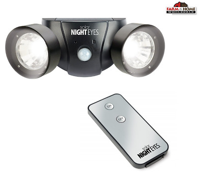 Solar Night Eyes Motion Activated Lights & Alarm Security LED ~ New
