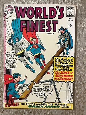 World's Finest Comics Issue #154 (DC, 1965)