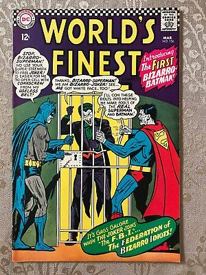 World's Finest Comics Issue #156 (DC, 1966)