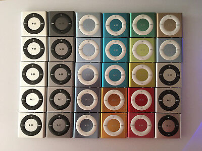 Apple iPod shuffle 2GB Green, Pink, Blue, Red, Grey, Silver, Gold, Black, Yellow