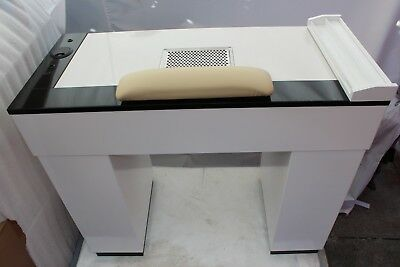 Manicure Table Nails Table Vbssv  White/black