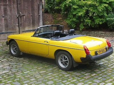Beautiful  MGB ROADSTER