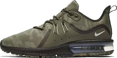 New NIKE Air Max Sequent 3 Mens olive camo sneaker all sizes