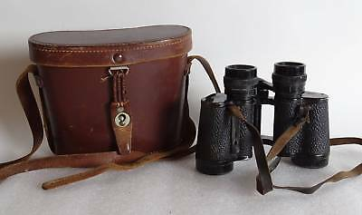 Altes original Carl Zeiss Jena Deltintrem 8x30 Fernglas mit Zeiss Ledertasche