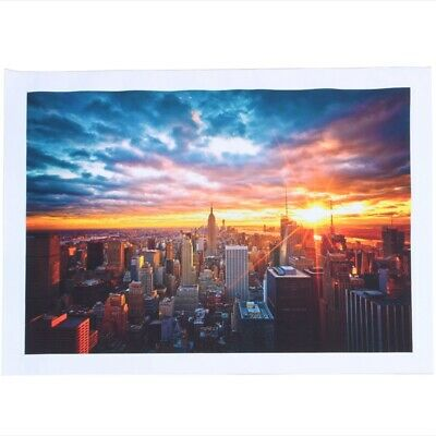 New York City Night Cityscape Canvas Poster Home Wall Art Decoration M5T2