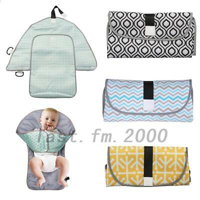 Waterproof Baby Diaper Changing Mat Travel Home Change Pad Organizer Bag NEW