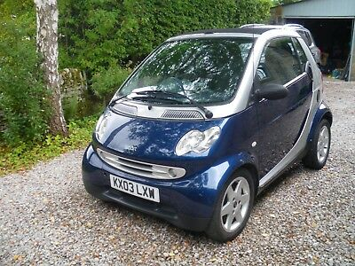 Smart For two Convertible/City Pulse/2003/0.6 l petrol