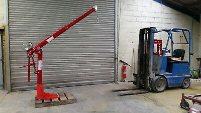 Superb 1 Ton Thern Crane For Trailers Trucks And Workshop