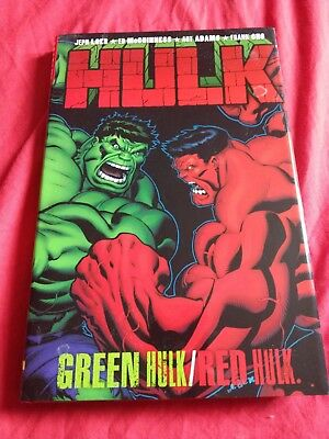 Hulk: Green Hulk Red Hulk by Marvel Comics (Hardback, 2009)