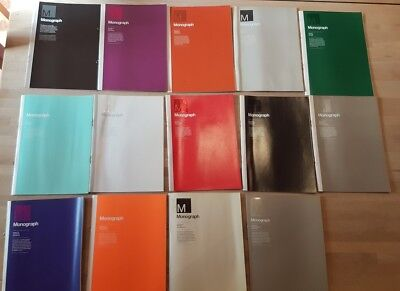 Creative Review Monograph magazines - 28 Issues - 2007 - 2010