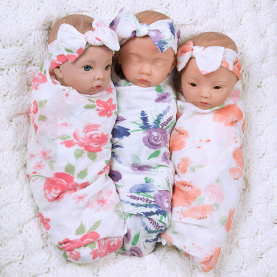 Paradise Galleries Reborn Baby Doll That Looks Real - Sweet Swaddlers Trio