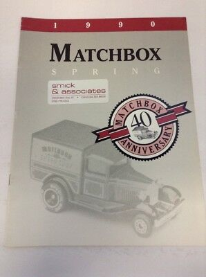 Preowned 1990 Matchbox Spring Product Catalog
