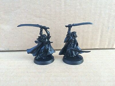 Elladan and Elrohir (Elrond high elves) metal LOTR Lord of the Rings Warhammer