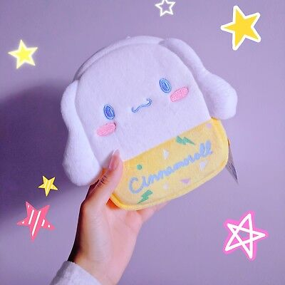 Sanrio Cinnamoroll Characters 80's pop-back type pouch bag pochette