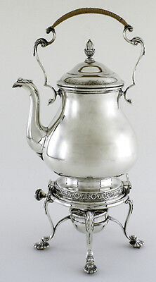 International Prelude Sterling Silver Hot Water Kettle With Stand & Warmer - Tea