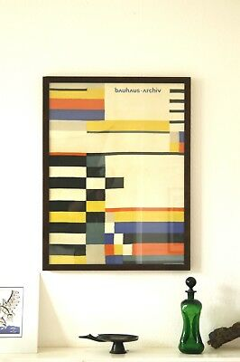 Bauhaus New Poster Ruth Hollos Textile Tapestry 1927 Wagenfeld Eames Bertoia