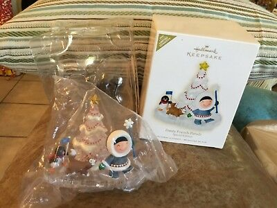 2009 Frosty Friends Parade Hallmark Keepsake Ornament LE NIB # 2