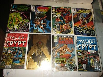 Marvel DC GHOST RIDER/TALES CRYPT Comic 8 Book Lot! High grades VF/NM to NM+
