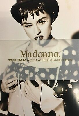 1990 Madonna The Immaculate Collection (5) Post Card+Free Shipping