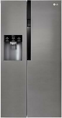 LG GSL 361 ICEZ A++ Side-by-Side, dark Graphit, No Frost, Door Mounted Icemaker