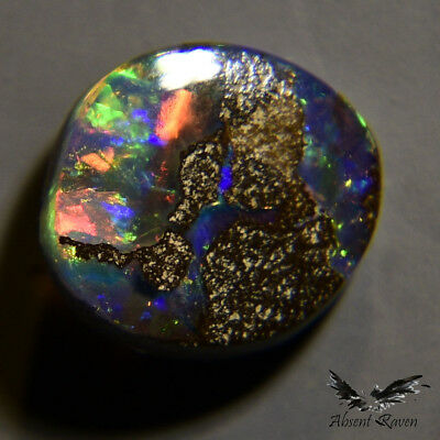 Polished Australia Boulder 0.90 cts Jewellery Ring Pendant Gem Stone Opal #1.15