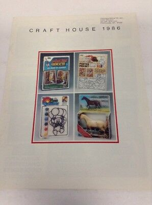 Preowned 1986 Craft House Product Catalog