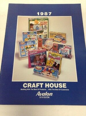 Preowned 1987 Craft House Product Catalog