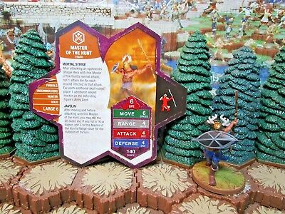 Master of the Hunt Heroscape Moltenclaw's Invasion D3