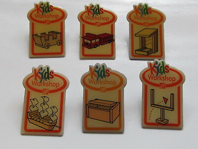 home depot collectibles home depot 6 kids workshop  lapel pins