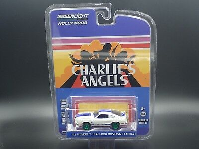 Greenlight Green Machine Chase Charlies Angels 1976 Ford Mustang Ii Hollywood 19