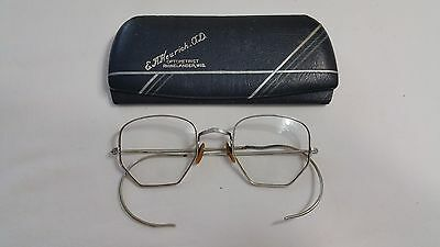 Vintage Six Sided Bausch & Lomb 1/10 12K White Gold Filled