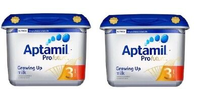 (PACK OF 2) Aptamil Profutura Stage 3 Growing Up Milk EXP: MARCH 2020  800+800 g