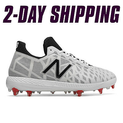 New Balance Baseball Low-Cut COMPv1 Comp Cleats White -COMPTW1 *2DAY SHIP*